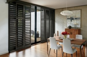 wood synthetic hybrid shutters