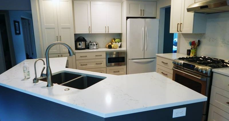 Small Kitchen Remodeling - Nuance Interior Design & Blinds
